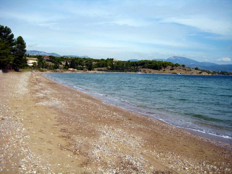 Παραλία Κεχριές, Κορινθία