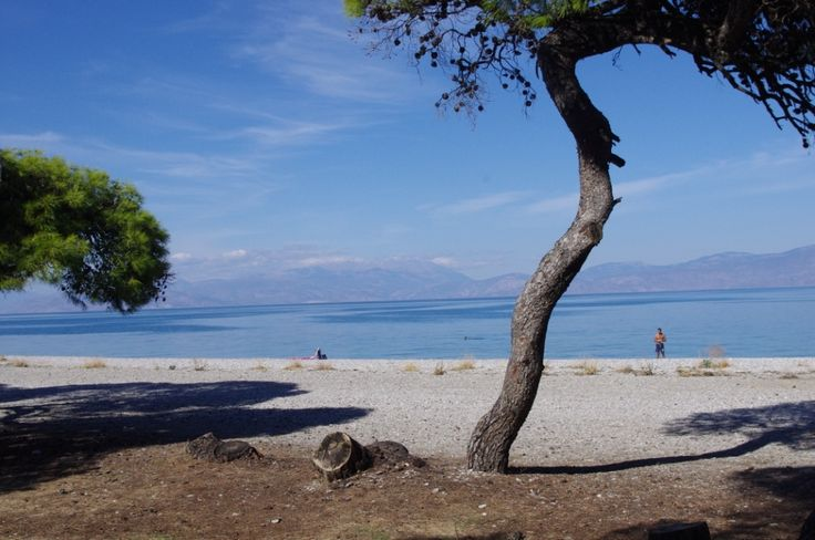 Παραλία Πευκιάς, Κορινθία